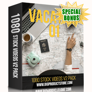 Special Bonuses - May 2019 - Vacation 1 - 1080 Stock Videos V2 Pack