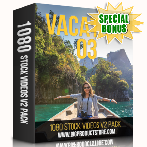 Special Bonuses - May 2019 - Vacation 3 - 1080 Stock Videos V2 Pack