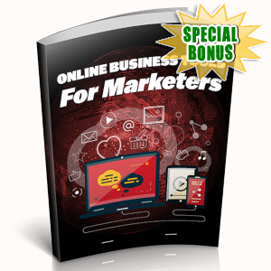 Special Bonuses - May 2019 - Online Business Tools For Marketers