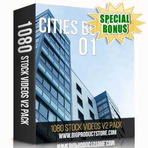 Special Bonuses - May 2019 - Cities Building 1 - 1080 Stock Videos V2 Pack