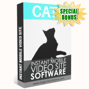 Special Bonuses - June 2019 - Cats Instant Mobile Video Site Software