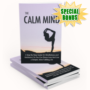 Special Bonuses - June 2019 - The Calm Mind Pack