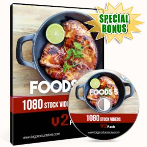 Special Bonuses - June 2019 - Foods 5 - 1080 Stock Videos V2 Pack