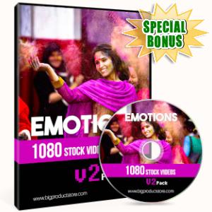 Special Bonuses - June 2019 - Emotions - 1080 Stock Videos V2 Pack