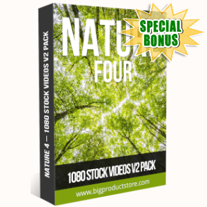 Special Bonuses - July 2019 - Nature 4 - 1080 Stock Videos V2 Pack