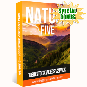 Special Bonuses - July 2019 - Nature 5 - 1080 Stock Videos V2 Pack
