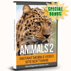 Special Bonuses - July 2019 - Animals 2 - 1080 Stock Videos V2 Pack