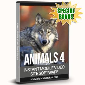 Special Bonuses - July 2019 - Animals 4 - 1080 Stock Videos V2 Pack