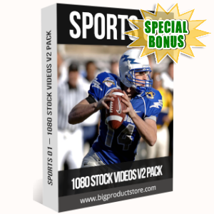 Special Bonuses - July 2019 - Sports 1 - 1080 Stock Videos V2 Pack