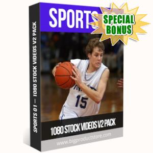 Special Bonuses - July 2019 - Sports 2 - 1080 Stock Videos V2 Pack