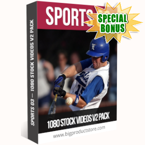 Special Bonuses - July 2019 - Sports 3 - 1080 Stock Videos V2 Pack