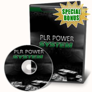 Special Bonuses - July 2019 - PLR Power System Video Series Pack