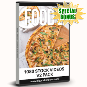Special Bonuses - August 2019 - Food 2 - 1080 Stock Videos V2 Pack