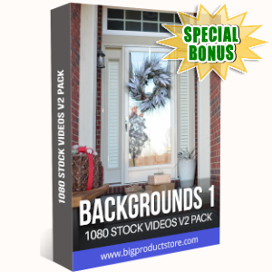 Special Bonuses - September 2019 - Backgrounds 1 - 1080 Stock Videos V2 Pack