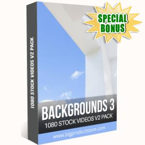 Special Bonuses - September 2019 - Backgrounds 3 - 1080 Stock Videos V2 Pack