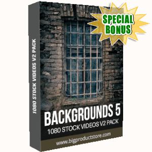 Special Bonuses - September 2019 - Backgrounds 5 - 1080 Stock Videos V2 Pack