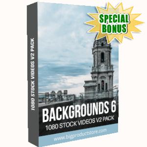 Special Bonuses - September 2019 - Backgrounds 6 - 1080 Stock Videos V2 Pack
