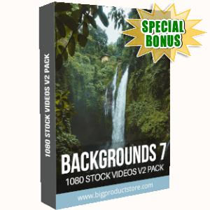 Special Bonuses - September 2019 - Backgrounds 7 - 1080 Stock Videos V2 Pack
