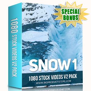 Special Bonuses - September 2019 - Snow 1 - 1080 Stock Videos V2 Pack