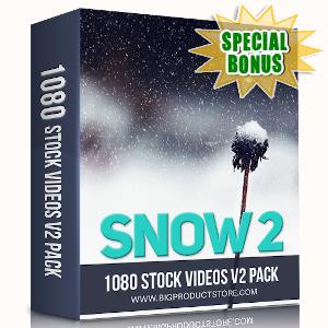 Special Bonuses - September 2019 - Snow 2 - 1080 Stock Videos V2 Pack