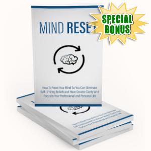 Special Bonuses - September 2019 - Mind Reset Pack