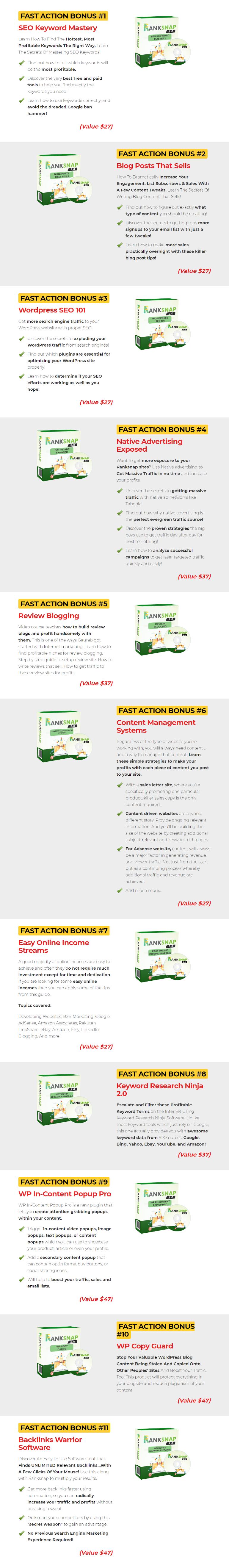 RankSnap V2 Bonuses