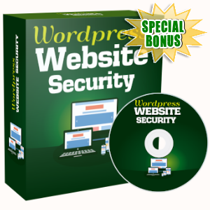 Special Bonuses - October 2019 - WordPress Website Security Video Series Pack