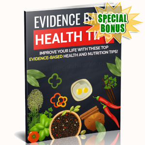 Special Bonuses - October 2019 - Evidence Based Health Tips