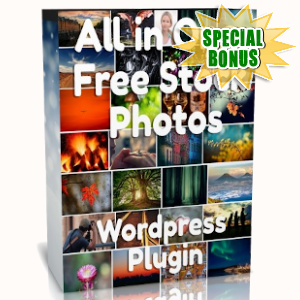 Special Bonuses - October 2019 - WP All In One Free Stock Photos Plugin