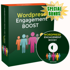 Special Bonuses - November 2019 - WordPress Engagement Boost Video Series Pack