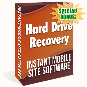 Special Bonuses - November 2019 - Hard Drive Recovery Instant Mobile Site Software