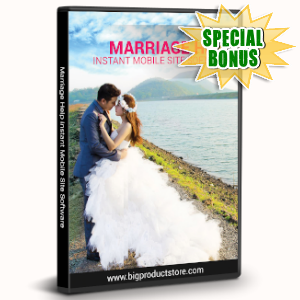 Special Bonuses - November 2019 - Marriage Help Instant Mobile Site Software