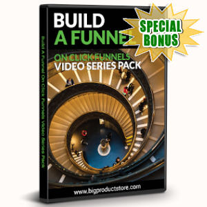 Special Bonuses - November 2019 - Build A Funnel On Click Funnels Video Series Pack