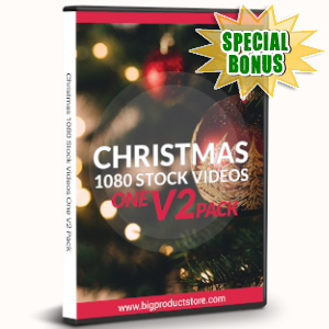Special Bonuses - November 2019 - Christmas 1080 Stock Videos Two V2 Pack