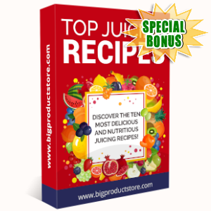Special Bonuses - November 2019 - Top Juicing Recipes