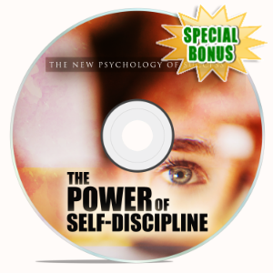 Special Bonuses - December 2019 - The Power Of Self-Discipline Video Upgrade Pack