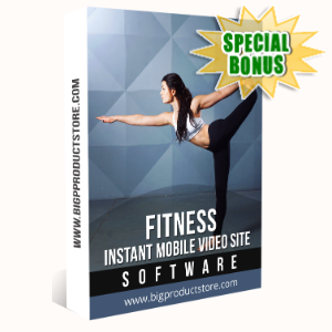 Special Bonuses - January 2020 - Fitness Instant Mobile Video Site Software