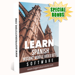 Special Bonuses - January 2020 - Learn Spanish Instant Mobile Video Site Software