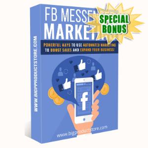 Special Bonuses - January 2020 - Facebook Messenger Marketing