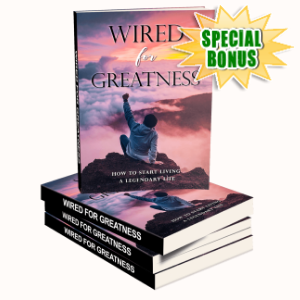 Special Bonuses - January 2020 - Wired For Greatness Pack