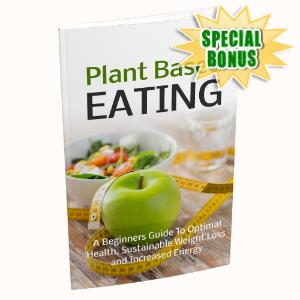 Special Bonuses - January 2020 - Plant Based Eating