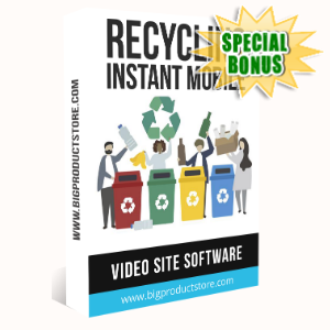 Special Bonuses - February 2020 - Recycling Instant Mobile Video Site Software