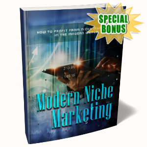 Special Bonuses - February 2020 - Modern Niche Marketing Pack
