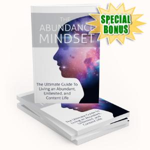 Special Bonuses - February 2020 - The Abundance Mindset Pack