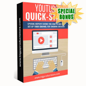 Special Bonuses - February 2020 - Youtube Quick Start Pack