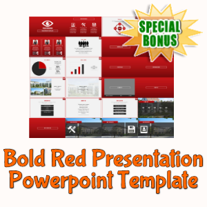 Special Bonuses - February 2020 - Bold Red Presentation Powerpoint Template