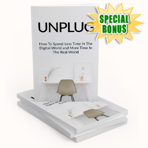 Special Bonuses - March 2020 - Unplug Pack