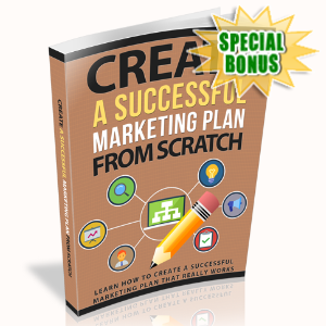 Special Bonuses - March 2020 - Create A Successful Marketing Plan From Scratch