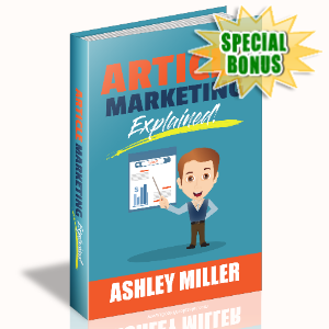 Special Bonuses - March 2020 - Article Marketing Explained