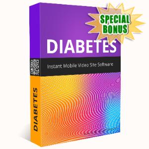 Special Bonuses - April 2020 - Diabetes Instant Mobile Video Site Software